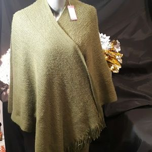 Vince Camuto Olive Shaw Wrap